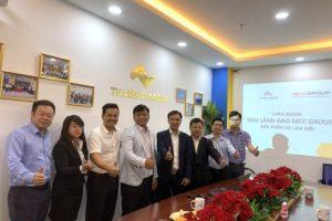 Công Ty Cổ Phần Địa Ốc Thắng Lợi và MCC Group ký kết hợp tác chiến lược