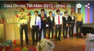 Gala Dinner Tất Niên 2012