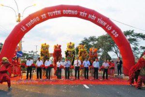 Thông xe tuyến đường kết nối Đường tỉnh 830 tại KCN Thuận Đạo