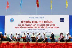 Xây lắp 18,7 km thuộc cao tốc Bến Lức - Long Thành