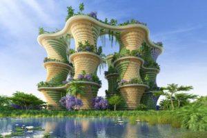 """Xu hướng hiện đại: """"Kiến trúc xanh"""" lên ngôi"""